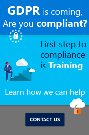 Contact us if you want to know how we can help your team to be GDPR ready